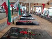 تجلیل از خانواده  شهدا و ایثارگران دارالشهدا دانش آموزی تهران