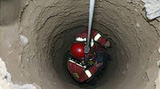 جنازه مردانه در چاه یک باغ پیدا شد