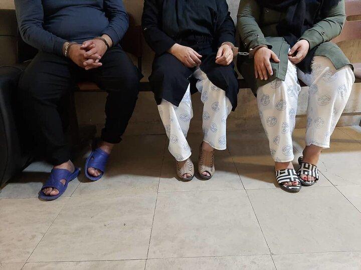 بخت گشایی در تهران بدست ساناز و سمیرا/ دستگیر شدند