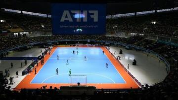 پخش زنده جام جهانی فوتسال ایران - ازبکستان