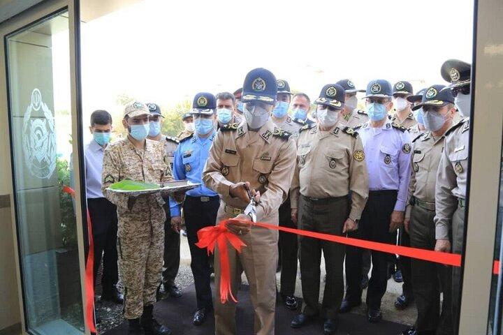 افتتاح پروژهای عمرانی در ستاد ارتش با حضور امیر سیاری