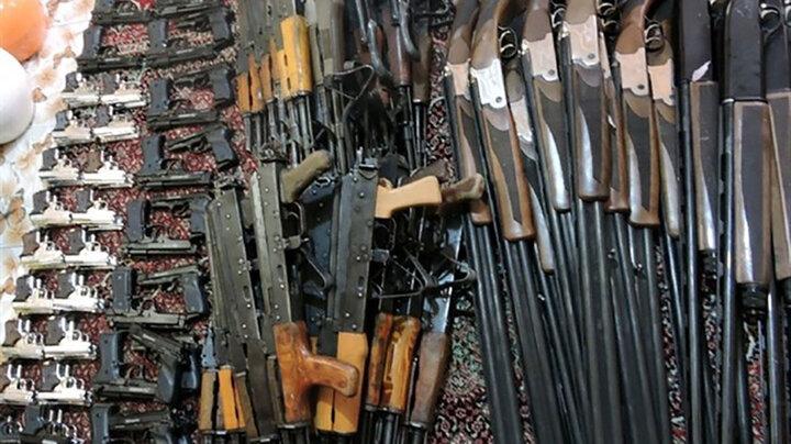 باند قاچاق سلاح در اهواز منهدم شد