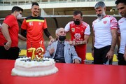 جشن تولد خوردبین با حضور پرسپولیسیها +عکس