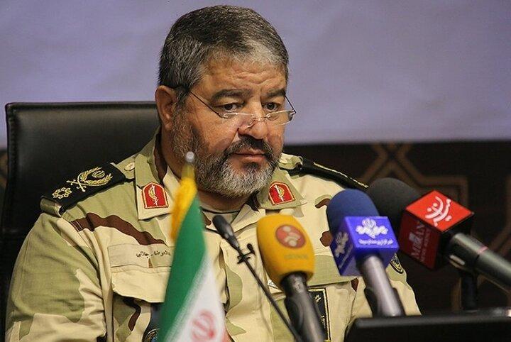 مدال عالی پدافند غیرعامل به شهید علی لندی اعطا شد
