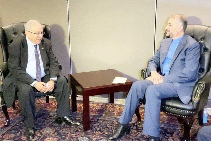 وزیر امور خارجه الجزایر برای سفر به تهران اعلام آمادگی کرد