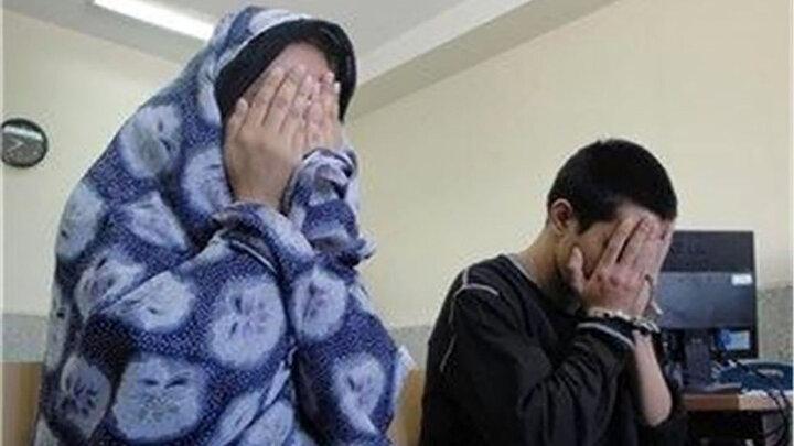 این خواهر و برادر تهرانی بی آبرویی را ازحد گذراندند