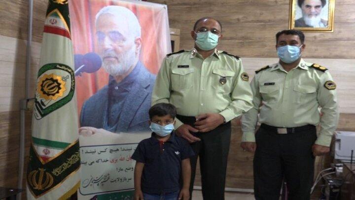 کودک ۵ ساله از چنگال آدم ربایان رهایی یافت