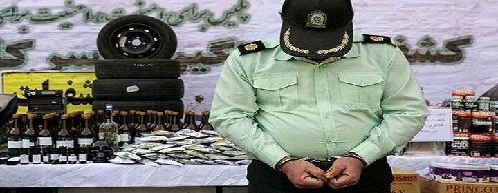 دستبند پلیس بر دستان سارقان مامورنما