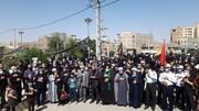 راهپیمایی «جاماندگان اربعین» در ورامین برگزار شد