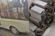 کشف ۲۱۰ دستگاه بیت کوین در شهرستان قرچک