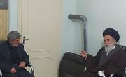 گفتگوی سردار قاآنی با آیت الله حسینی خراسانی حول محور تحولات اخیر منطقه
