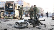 موتر نیروهای طالبان در ننگرهار منفجر شد