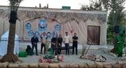 اجرای پروژه طراحی محیطی توسط اعضای باشگاه پژوهشگران دانشگاه آزاد اسلامی شهرقدس
