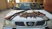 محیط بانان ، شکارچیان متخلف را به دام انداختند