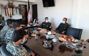 دیدار مسئولان شهرستان پیشوا با فرمانده سپاه
