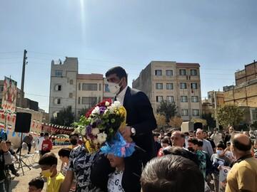 استقبال گرم مردم باقرشهر از پژمان پشتام