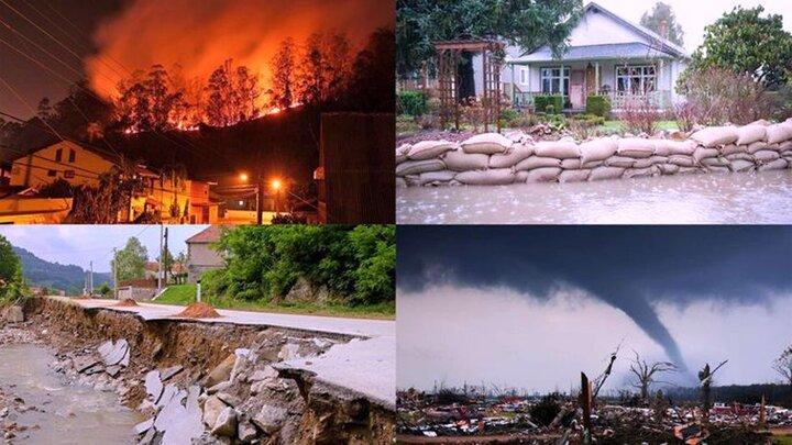 حفظ محیطزیست با کاهش اثرات بلایای طبیعی