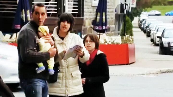 پرتاب شدن نوزاد توسط پدرش همه را شوکه کرد! + فیلم