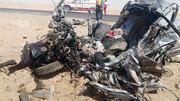 تصادف مرگبار در محور خوسف ۸ کشته و مصدوم برجای گذاشت