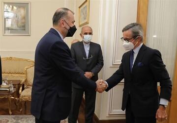 دیدار دبیرکل وزارت خارجه اتریش با امیرعبداللهیان چگونه گذشت؟