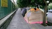 ایجاد مراکز اسکان مانع چادرزنی اطراف بیمارستانها میشود