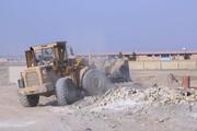 تخریب ساختوساز غیرمجاز روستای عبدلآباد در بخش کهریزک