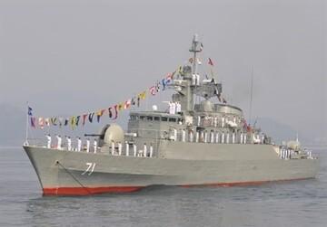 ناوگروه هفتادو هفتم نیروی دریایی ارتش در «بندر سلاله» پهلو گرفت