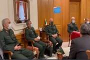 دیدار سرلشکر باقری با مدیران نهادهای ایرانی در روسیه