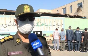 باند ۵ نفره سرقت سیم و کابل در پاکدشت متلاشی شد