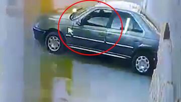 فیلم لحظه قتل مرد یزدی با شلیک گلوله