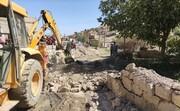 رفع تصرف 4 هزار و 600 مترمربع از اراضی منابع طبیعی دماوند در پلاک «خرمده»