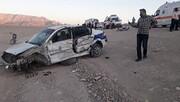 جاده مرگ ماشین پلیس راه هم طعمه کرد