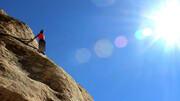 سقوط مرگبار از ارتفاع ۴۰ متری جان کوهنورد را گرفت