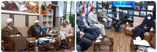 جلسه مشترک مسئولان پیشوا با مدیرکل روابط عمومی صدا و سیما