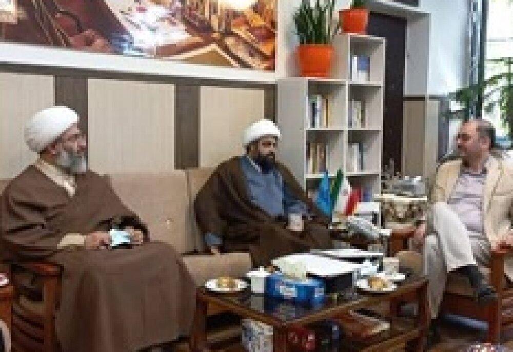 جلسه مشترک مسئولین پیشوا با مدیرکل روابط عمومی صدا و سیما