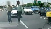 تعقیب و گریز مخوف در خیابان های تهران + فیلم
