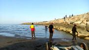 جسد مردجوان در آبهای ساحلی رامسر پیدا شد