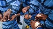 ۱۰ معتاد متجاهر و خرده فروش مواد مخدر در دام قانون
