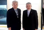 دیدار رئیس کمیته ملی المپیک و رئیس فدراسیون جهانی تکواندو/ چو: ایران یکی از قدرتهای جهان است
