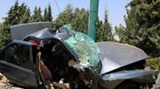 تصادف مرگبار در جاده بانه - سقز
