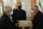 معارفه نماینده ویژه رئیسجمهور در امور افغانستان
