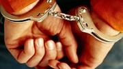 دستبند قانون بر دستان عامل تیراندازی در سیاهکل