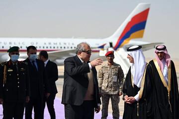 سفر رئیس جمهور ارمنستان به عربستان