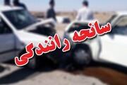 ۷ کشته و زخمی در تصادف جاده دبیران به جهرم