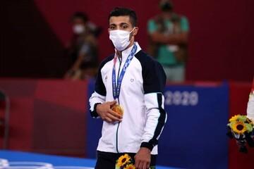قهرمان المپیک و جهان خادم امام رضا (ع) شد