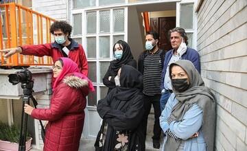پشت صحنه سریال «خانه پرتغالیها» به روایت تصویر