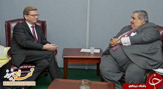 اهانت وزیر گوشتی بحرینی به نصرالله + تصاویر