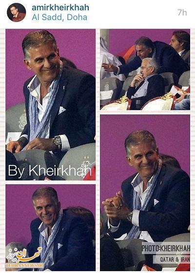 اتهام جدید کارلوس کیروش + عکس