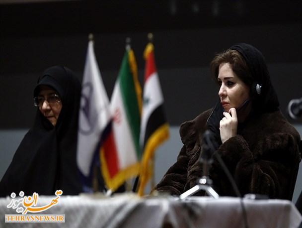 """هماندیشی """"زن و مقاومت"""" با حضور هیأت عالی رتبه زنان سوری برگزار شد"""