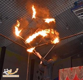 اجرای نمایشهای سیرک ستاره ایرانیان + تصاویر